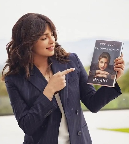 Priyanka Chopra Jonas releases her 'honest, raw' memoir 'Unfinished'